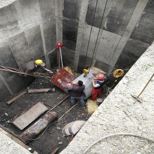 六道湾顶管工程