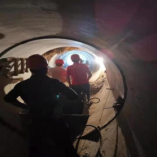2019-2020年老龙河退水管渠工程项目图片(管径2.2-2.4m)水利工程